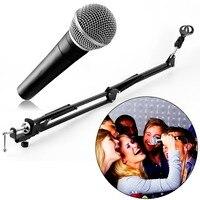 Gros Mic Microphone Suspension Boom Ciseaux Bras de Support de Stand pour le Studio de Diffusion hot nouveau