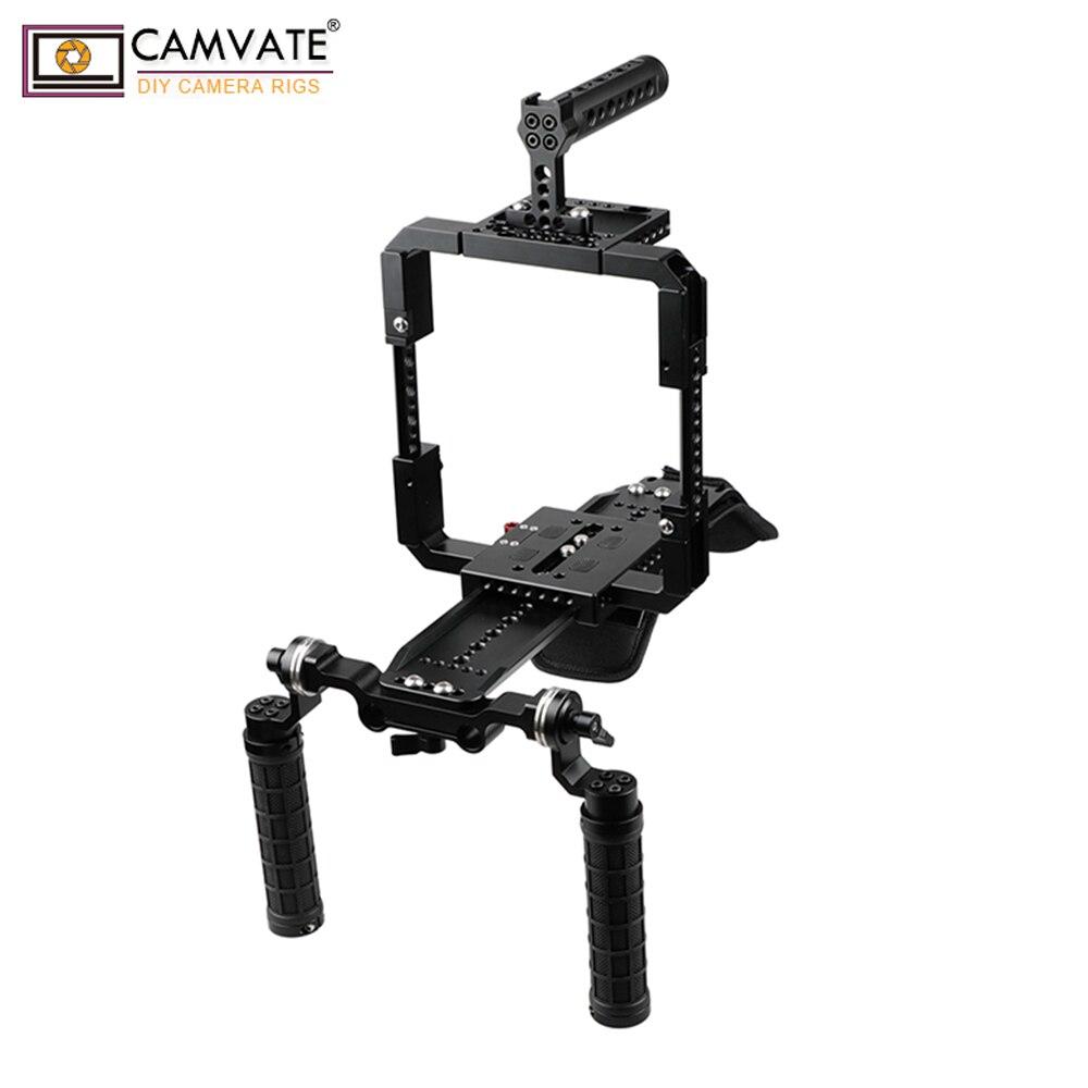 CAMVATE Pro Shoulder Rig Full Frame Cage Kit For Red Cameras C1913 camera photography accessoriesCAMVATE Pro Shoulder Rig Full Frame Cage Kit For Red Cameras C1913 camera photography accessories
