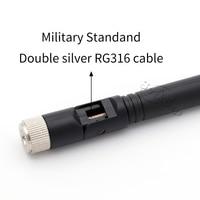 vhf uhf 5dBi 2.4GHz אנטנה SMA זכר Booster נתב 4G 5G מודם כפול Wifi אנטנה UHF VHF מקציפים מימו 5.8GHz אנטנות 433MHz Antenne (3)