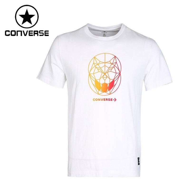 Original New Arrival 2018 Converse Men's T-shirts short sleeve Sportswear adidas original new arrival official originals s s camo color men s t shirts short sleeve sportswear cd1696