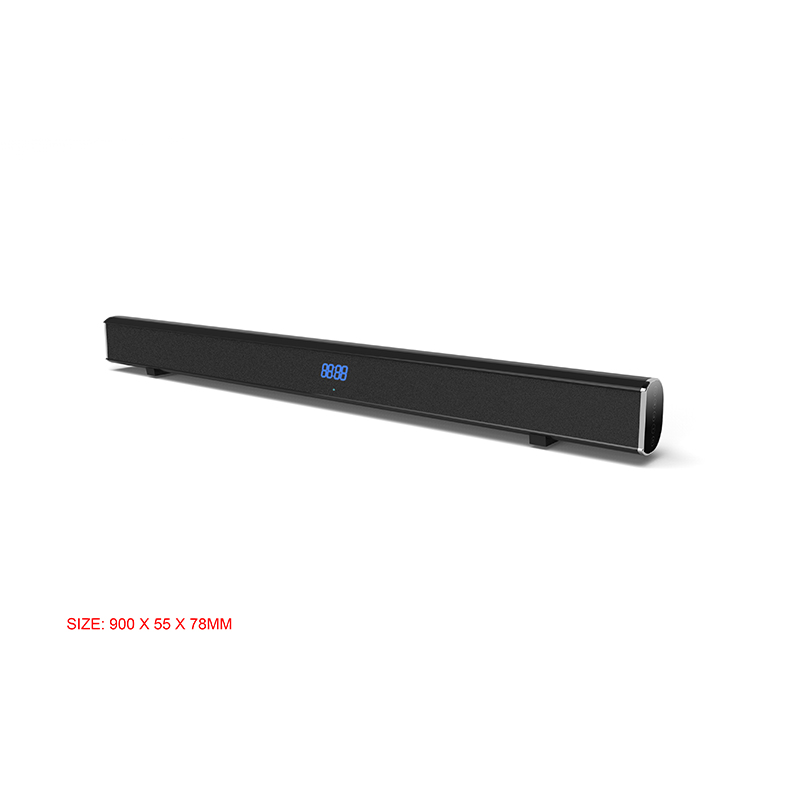 2.0ch 40W Wireless Bluetooth Soundbar with Super Bass Home Theatre System Speakers for TV Bluetooth Sound bar System