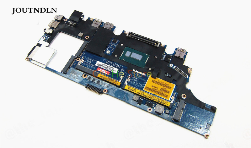 Generous Joutndln For Dell Latitude E7240 Laptop Motherboard Px759 La-9431p 0px759 Cn-0px759 With I5-4210u Cpu Laptop Accessories Computer & Office