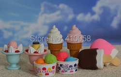 Good quality Orginal Design office stationery eraser/Japanese eraser/ice cream eraser / promotion school eraser/10 pcs per lot