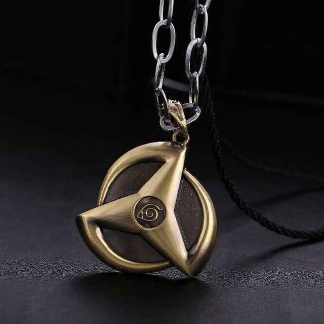 Kakashi Round Eyes Sharingan Pendants Necklaces