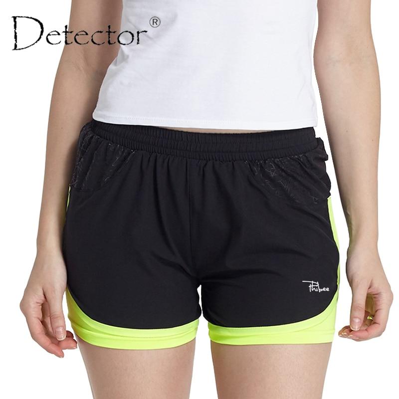 Detector Women Fitness Running Shorts ladies Shorts Women Fitness Sport Shorts Women's Printed Cool Women Sport Short