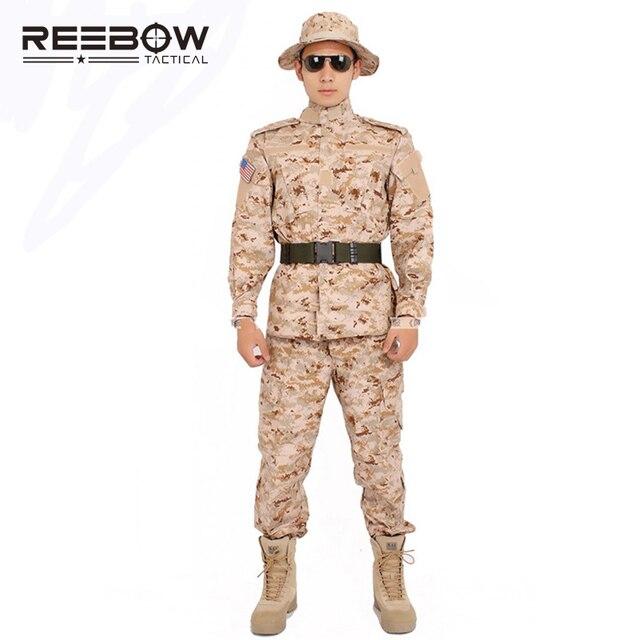 22d836cbe Táctico Militar Ejército Uniforme de Chaqueta y Pantalones de Tiro Al Aire  Libre del Ventilador Conjunto