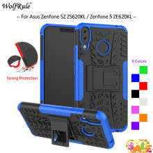 For Cover Asus Zenfone 5Z ZS620KL Case Zenfone 5 ZE620KL TPU&PC Armor Bumper Phone Case For Asus Zenfone 5Z ZS620KL Cover 6.2'' чехол книжка asus для zenfone 5z zs620kl ze620kl black 90ac0340 bcv001