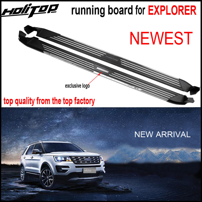 New arrival for Ford Explorer 2016 2018 running board side step side bar TOP quality ISO