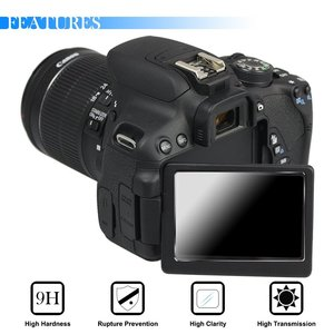 Image 3 - 2x 9H Tempered Glass LCD Screen Protector for Canon EOS 2000D T7 T100 3000D 1500D 5D Mark IV III 4 3 5Ds R / 77D 1DX Mark II 2