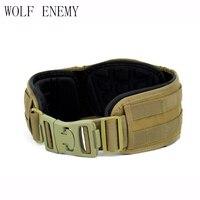 Genuine System 1000D Waterproof Nylon Tactical Blast Belt Military USMC Molle Airsoft Platform Waist Belt