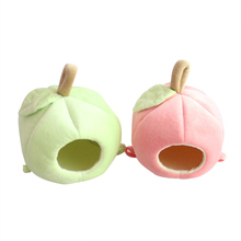 Hammock Hamster Small Pet Hanging House Cute Winter Warm Guinea Pig Supplies Apple Shape