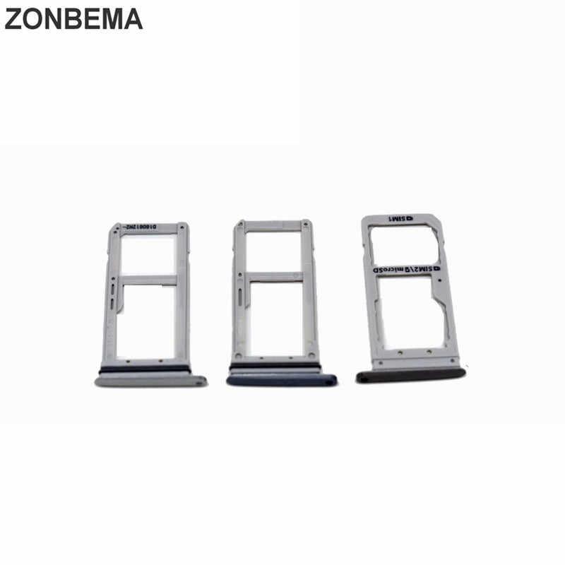 ZONBEMA Hoge Kwaliteit Sim-kaart Lade Houder Slot Container Adapter Voor Samsung Galaxy S7 G930 G930F