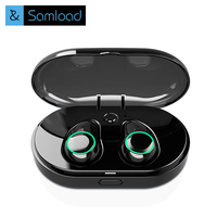 Samload TWS Bluetooth Earphone Earbuds Touch Control Hifi Stereo Wireless Microphone For Phone With Charger Charging