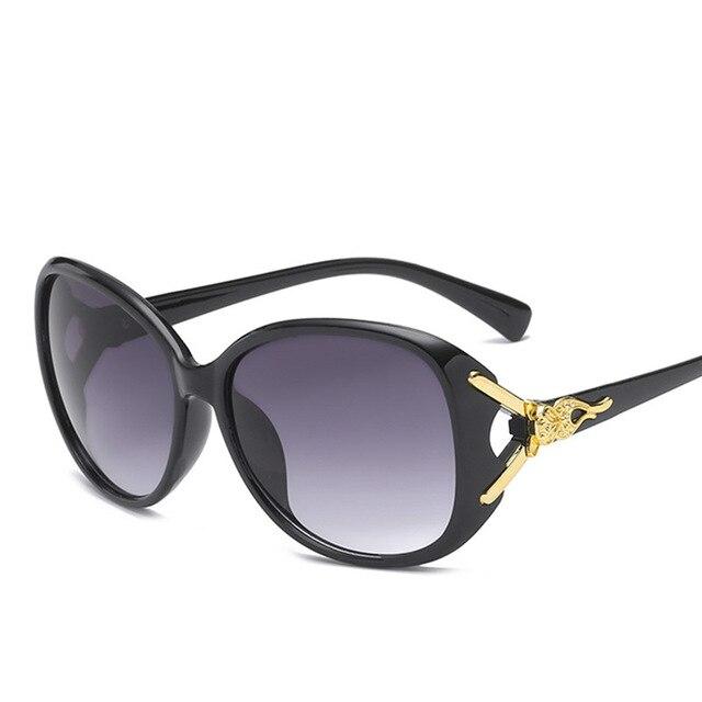 b9012e2d0 DV Sunglasses Women 2018 Oversized Vintage Sunglasses Brand Designer FOX  Frame Sun Glasses oculos de sol