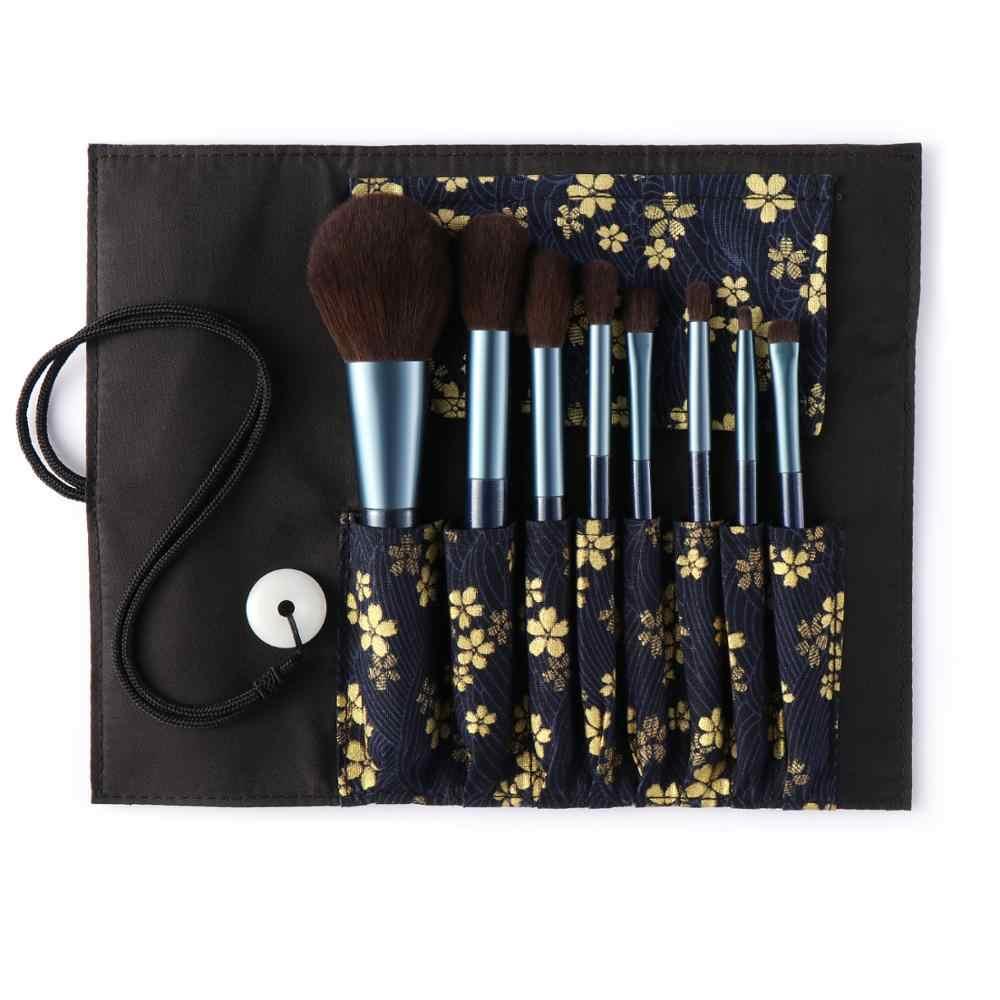 8PCs Soft Fiber Makeup Brush Set Professional Fashion Make up Brushes Set For Cosmetic Beauty Tools Kit Powder Blending Brushes