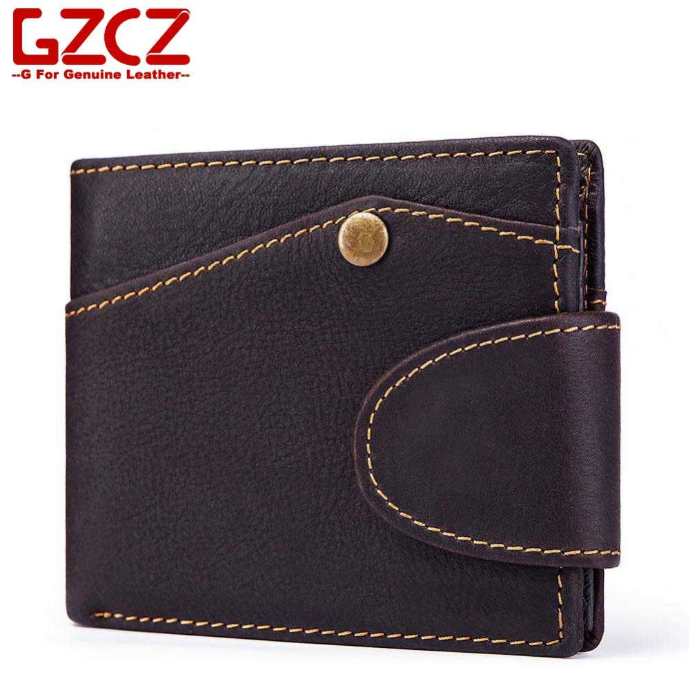 Short Wallet Card-Holders Coin-Purse Portomonee Cuzdan Men Carteira Retro Male