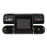 2 HD 1080P Car DVR Camera 360 Degree Wide Angle Recorder Dual Lens G Sensor GPS