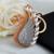 Nueva magia de la amistad llavero para mujer regalo de la joyería animal cisne llavero llavero de coche llaveros bolsa regalo de la joyería al por mayor
