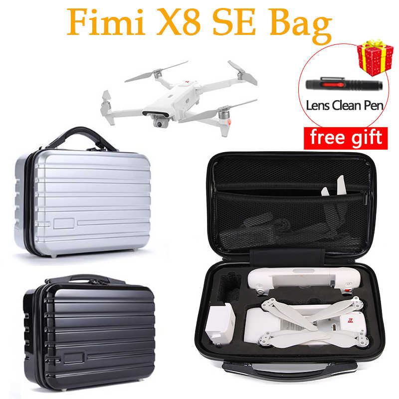 EVA Hard Shell Portable Travel Bag Carrying Case For FIMI X8 SE Drone RC Parts Accessories Waterproof Storage Bag for fimi X8 SE