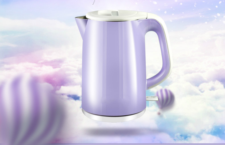 Electric kettle 304 stainless steel water - proof seamless internal urchin Safety Auto-Off Function цена и фото