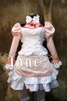 Chobits Chii Cosplay Costume Luxury Party Dress Halloween Fashion Party Lolita Cute Dress Free Shipping