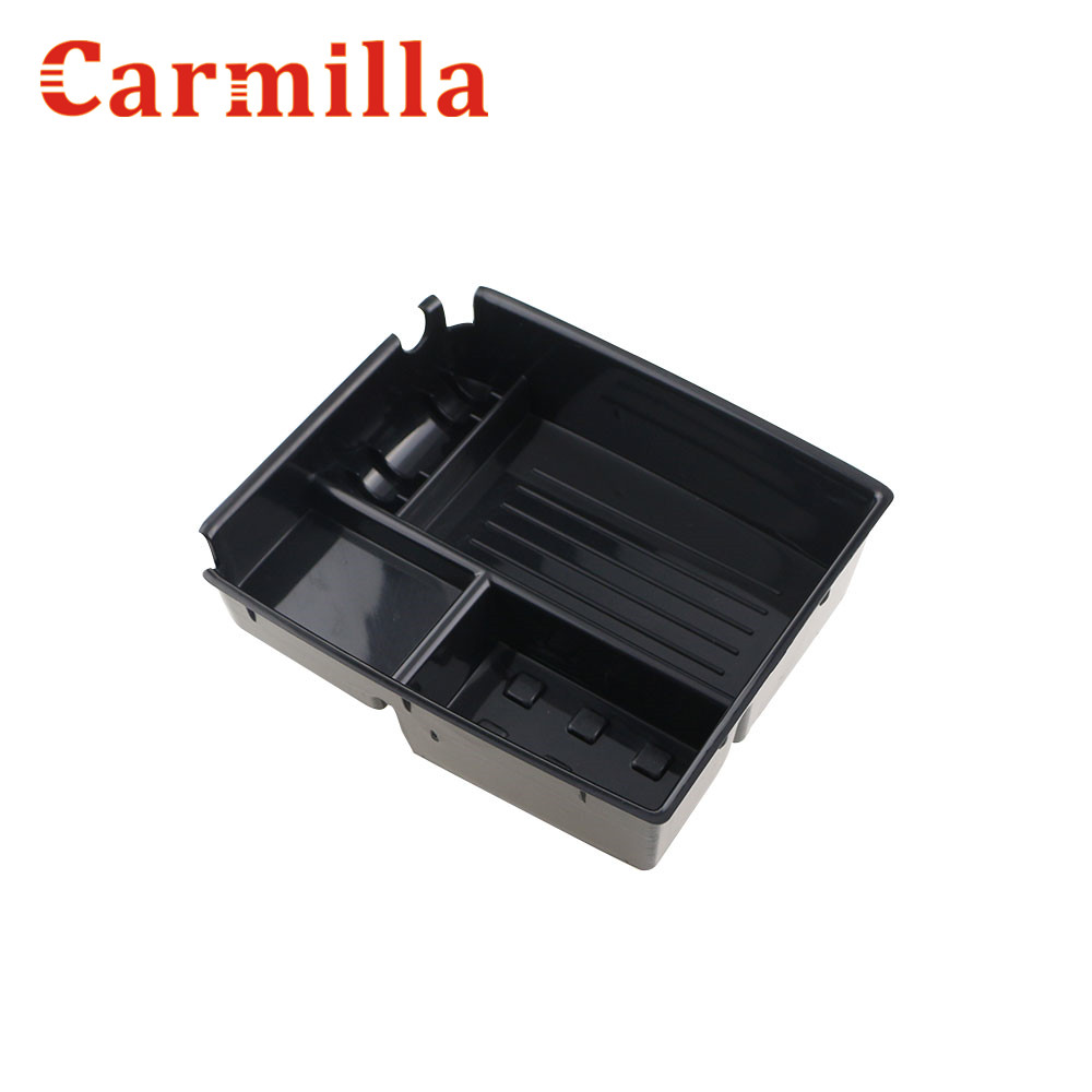 Carmilla Auto Zentralen Aufbewahrungsbox Broadhurst Armlehne Runderneuert Handschuh Lagerung Box für Kia Sportage R LHD 2011 2012 2013 2014 2015