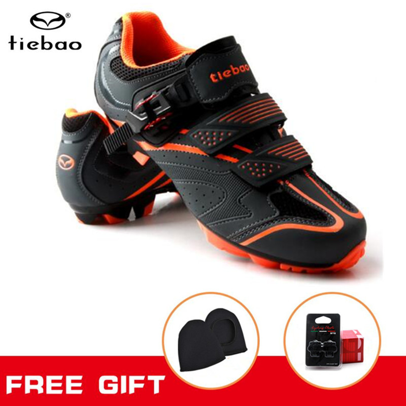 цена Tiebao Cycling Shoes Men Sneakers women mountain Bike Athletic Sapatilha Ciclismo mtb zapatillas deportivas mujer Bicycle Shoes