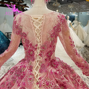 Image 5 - AIJINGYU Indian Wedding Dress Lace Vintage Gowns Coat Bridals Buy New Shiny Luxury White Ball Gown Dresses
