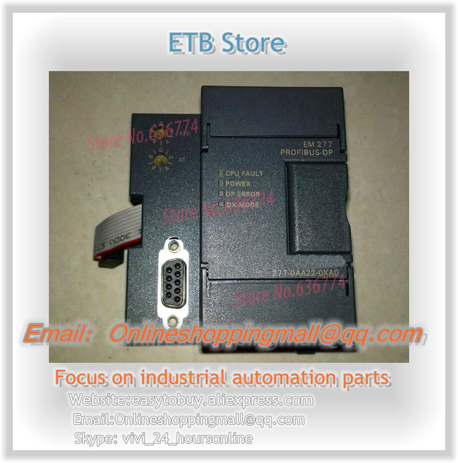 NEW Origianl Compatible PLC Module EM277 6ES7277-0AA22-0XA0 dhl ems 1pc used for original em277 6es7 277 0aa22 0xa0 6es7277 0aa22 0xa0 plc