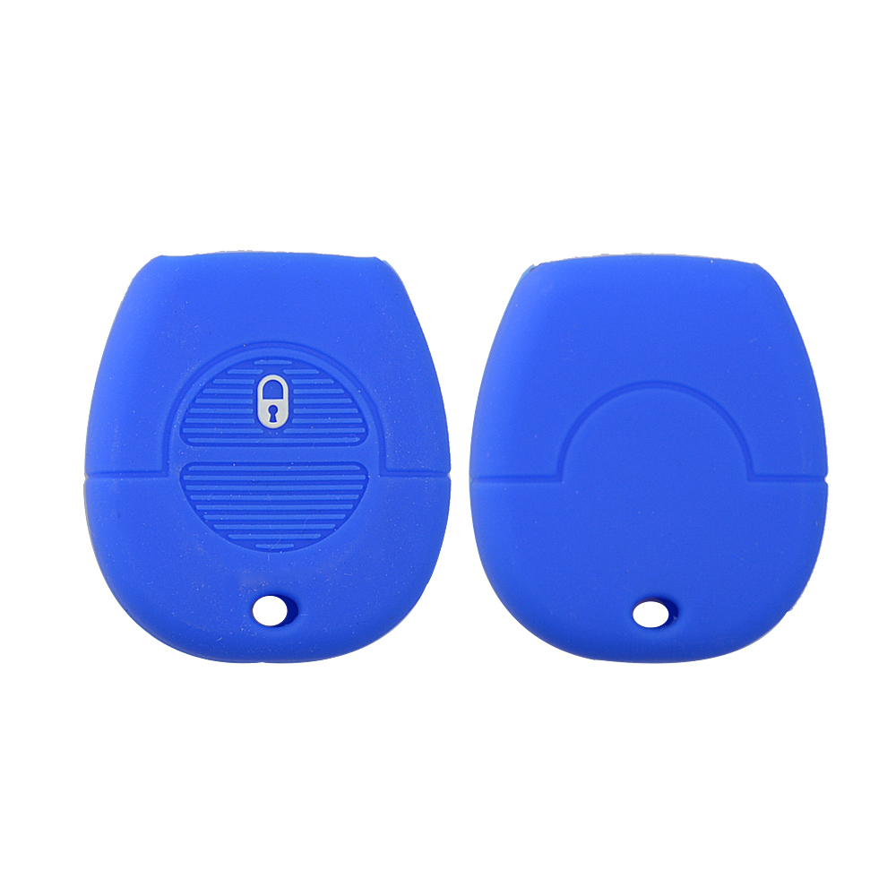 1 buttons silicone car key cover for Nissan 5