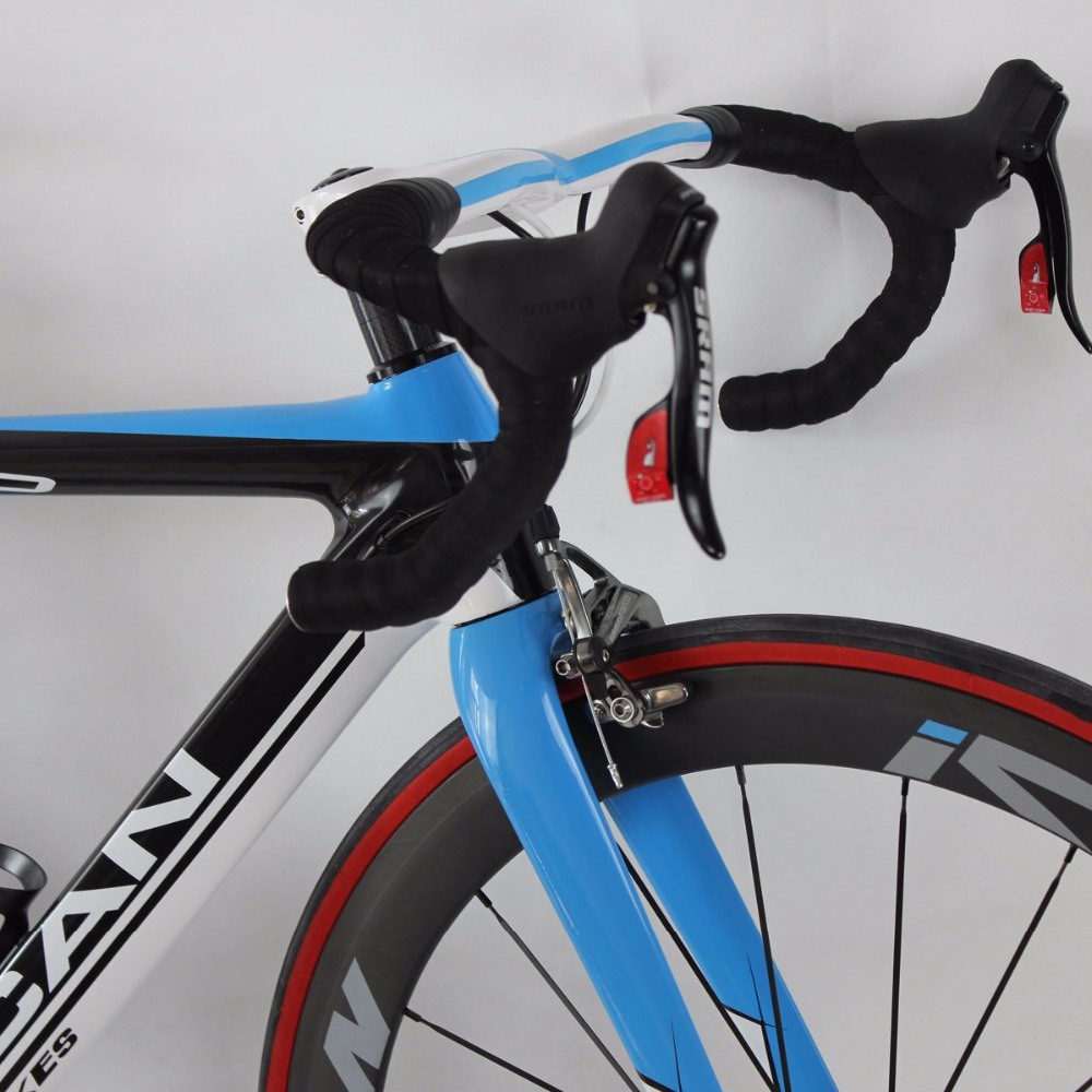 ICAN Carbon αερόστρωτο ποδήλατο μπλε 7.3kg - Ποδηλασία - Φωτογραφία 2