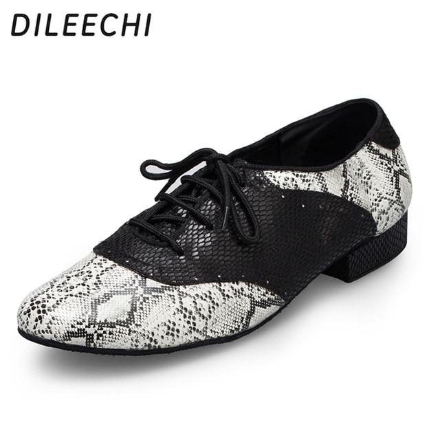 6d3b9ad6fc DILEECHI serpentina isointernational dança Moderna sapatos de dança  masculina sapatos de dança de Salão sapatos Patry