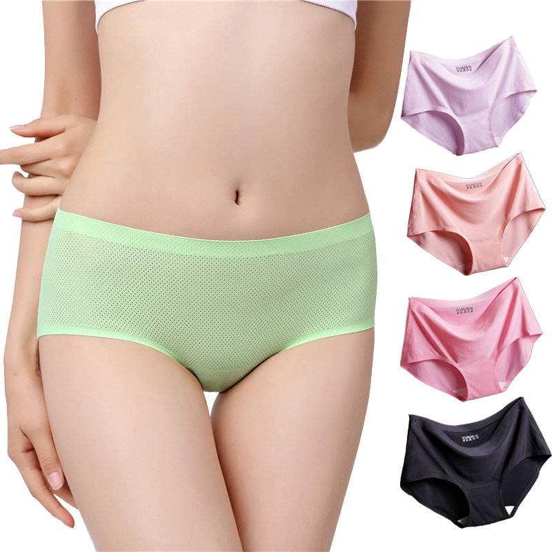 23a837ec5 2018 verão nova Intimates Calcinhas das Mulheres escavar cuecas das  senhoras mulher de lingerie sem costura
