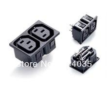 Elektrik C13 IEC320 çift