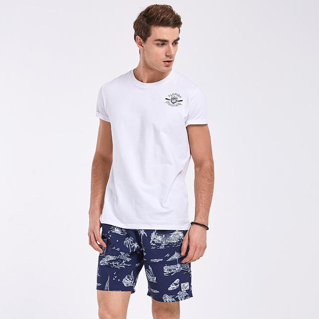 Gailang Brand Sexy Men's Beach Shorts Board Boxer Trunks Shorts Men Swimwear Swimsuits Quick Dry Shorts Gay Quick Dry