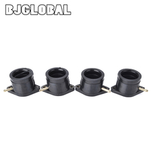 Motorcycle Carburetor Interface Adapter Intake Manifold Joint Boot Pipe Glue For Yamaha XJ 900 900F 31A-13586-00