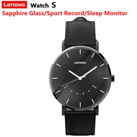 Lenovo Watch S Fashion Style Smart Watch Quartz Watches Intelligent Reminder 5ATM Waterproof Long Battery Life Sports Smartwatch