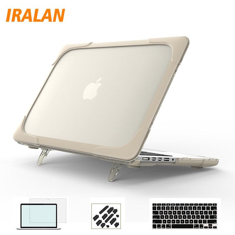 Divat laptop táska Hard Protector tok MacBook Air 11 Pro 13 12 15 - Laptop kiegészítők