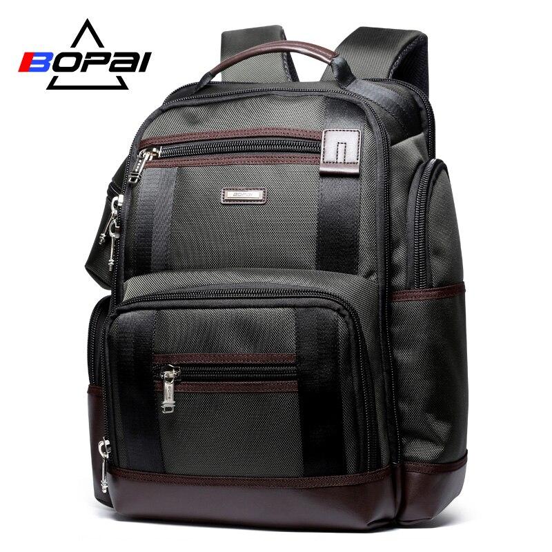 Large Capacity Men Travel Backpack Multi Pockets Nylon Male Mochila Black Rucksack for School Multifunction Laptop