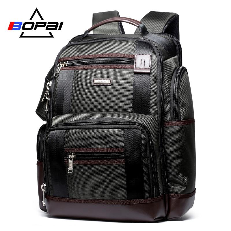Große Kapazität Männer Reiserucksack Multi Taschen Nylon Männlichen Mochila Schwarz Rucksack für Schule Multifunktions Laptop Rucksack Tasche
