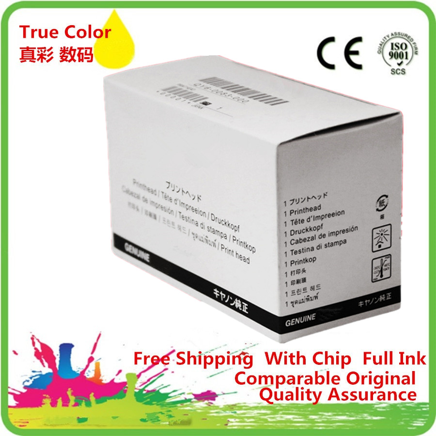 QY6 0080 QY60080 Printhead Print Head Printer Remanufactured For Canon IP 4850 4880 4830 MG 5250