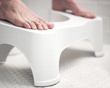 50% OFF HOT!!! Kids Boy Girl Pregnant Woman Ergonomic Design Squatty Toilet Stool Potty