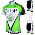 2017 SaxoBank Tinkoff Pro Maillot Rock Bicycle Wear Cycling Clothing Ropa Ciclismo Cycling Sets Racing Bike Cycling Jersey set