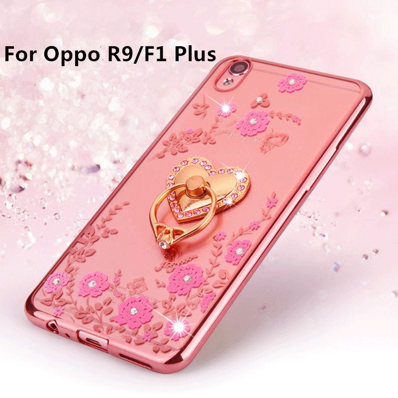 sports shoes 94947 6aa64 US $2.98 |Xinchentech For OPPO R9/F1 Plus Case Luxury Plating Gilded TPU  silicone soft Back Cover Accessory Coque Fundas For F1plus-in Fitted Cases  ...