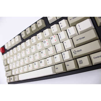 MP Cherry Profile English/Korean Version Dye-Sublimation 87/112 Keys Thick PBT Keycaps MX Switch Mechanical Keyboard Keycap - Category 🛒 Computer & Office