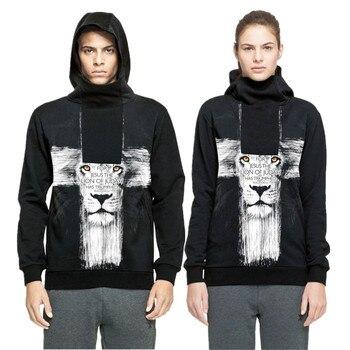 Sudaderas con capucha y cremallera negras de tela de poliéster de hip hop para Otoño/Invierno para hombres/mujeres, sudaderas con capucha para chicos con palabras cristianas en 3D, jerséis para parejas