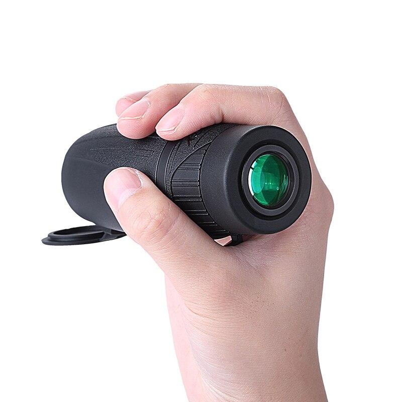 Monoculaire Mini Portable HD Militaire FMC Film Vert Télescope 25 Calibre Voyage Alpinisme téléphone Télescope cadeaux