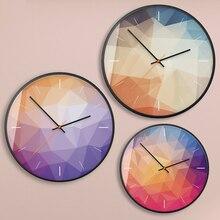 Beautiful Quartz Wall Clock Silent Creative Gift Ideas Home Modern Design Decor Orologio Parete Watch Clocks 50KO526