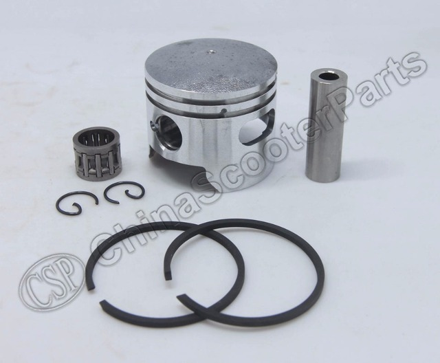 HP 44MM 12MM One  Window Piston Kit 47CC 49CC Mini Moto Dirt Pit Bike ATV Quad Parts