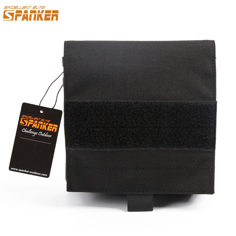 EXCELLENT ELITE SPANKER Tactical Equipment Outdoor Simple Utility Molle Hunting Magic Tap Waist Pouch Gadget Storage Accessories